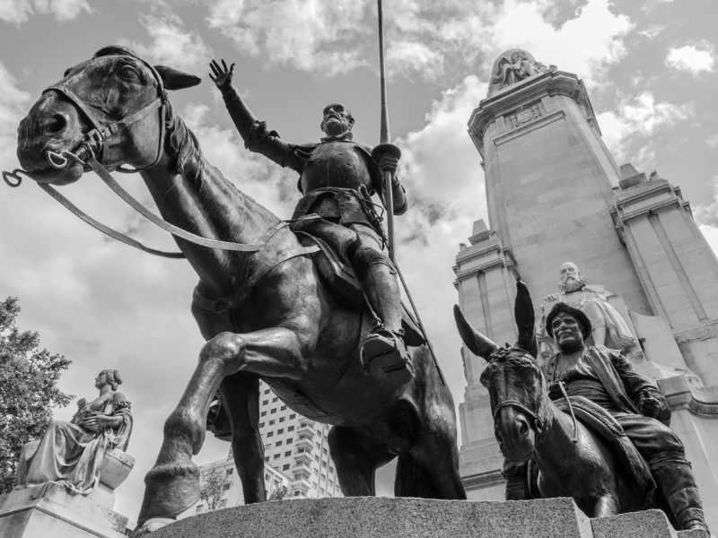 Die wundersamen Erlebnisse des Don Quichotte de la Mancha